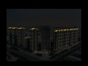 全国最chang节neng路装有1400多盏太阳nengdeng
